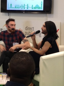 Conchita Wurst at LBF 2015